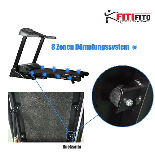 Fitifito ES8500X inkl Dämpfungssystem