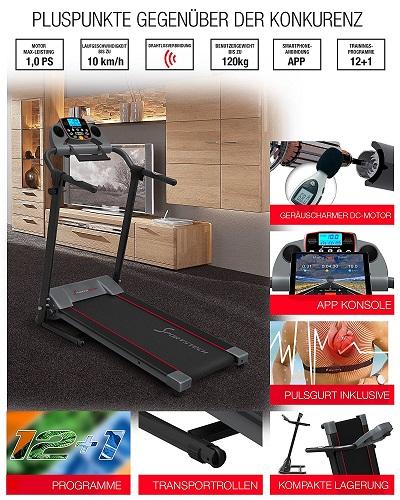 Sportstech F10 Vorteile