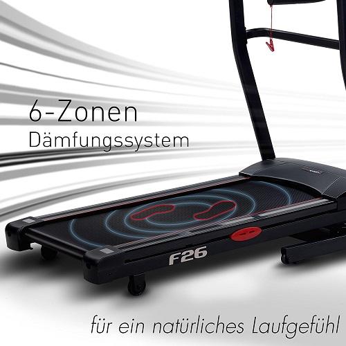 Sportstech F26 und F31 6 Zonen System