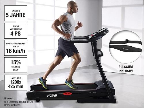 Sportstech F26 und F31 Features
