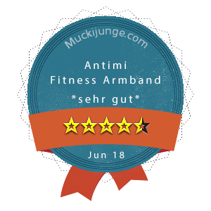 Antimi-Fitness-Armband-Wertung