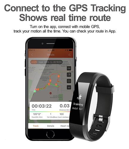 HolyHigh YG3 Plus GPS übers Handy