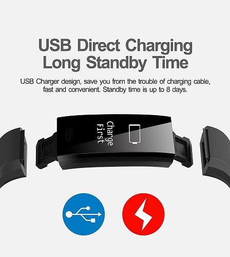 HolyHigh YG3 Plus aufladen über USB