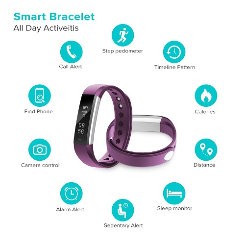 Runme Fitness Armband Features