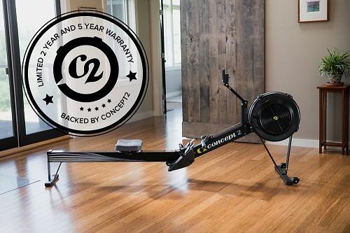 Concept2 Indoor Rower Garantie 5 Jahre