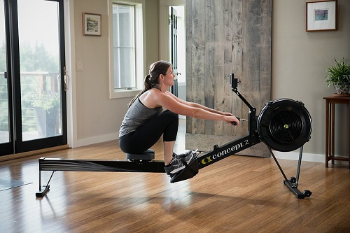Concept2 Indoor Rower beim Training