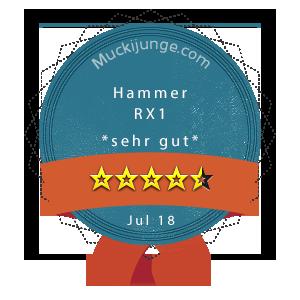 Hammer-RX1-Wertung