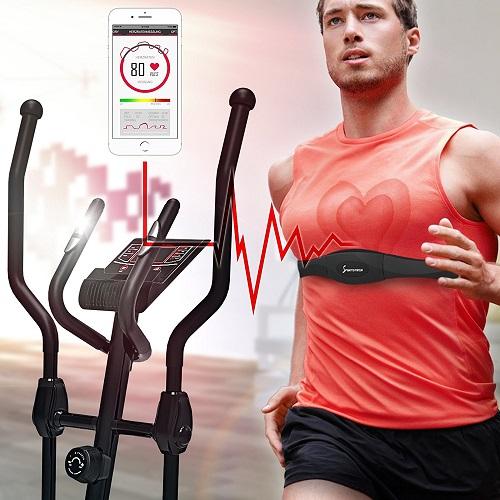 Sportstech CX608 inklusive Herzfrequenzmessung