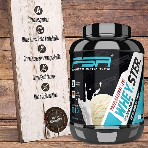 FSA Nutrition Whey.Ster. ohne schlechte Inhaltsstoffe